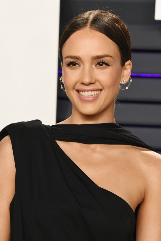 JESSICA ALBA at Vanity Fair Oscar Party in Beverly Hills 02/24/2019