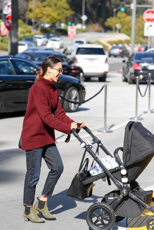JESSICA ALBA Out to Lunch in Los Angeles 02/26/2019