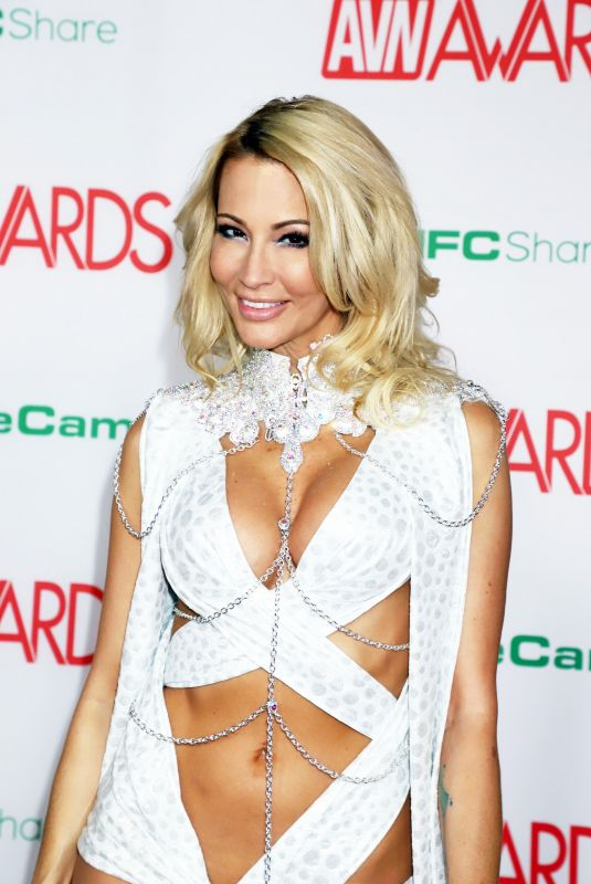 JESSICA DRAKE at AVN Video News Awards in Las Vegas 01/26/2019