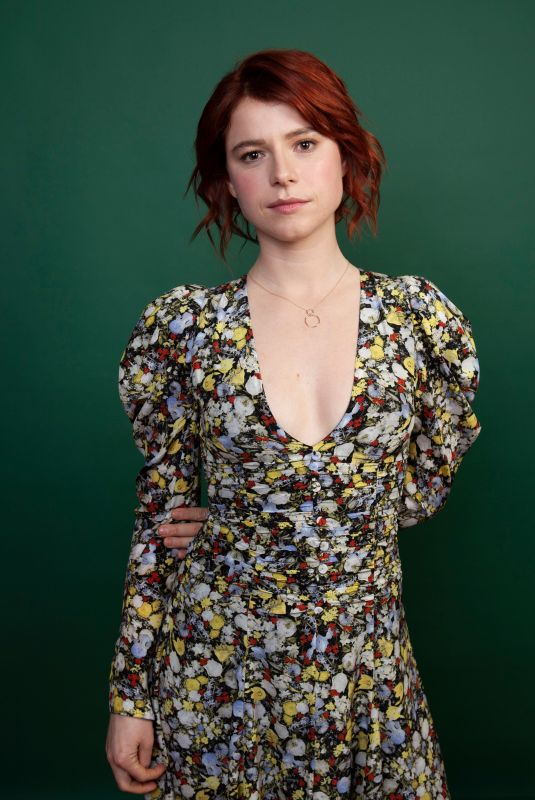 JESSIE BUCKLEY at 2019 Winter TCA Tour in Pasadena 02/08/2019