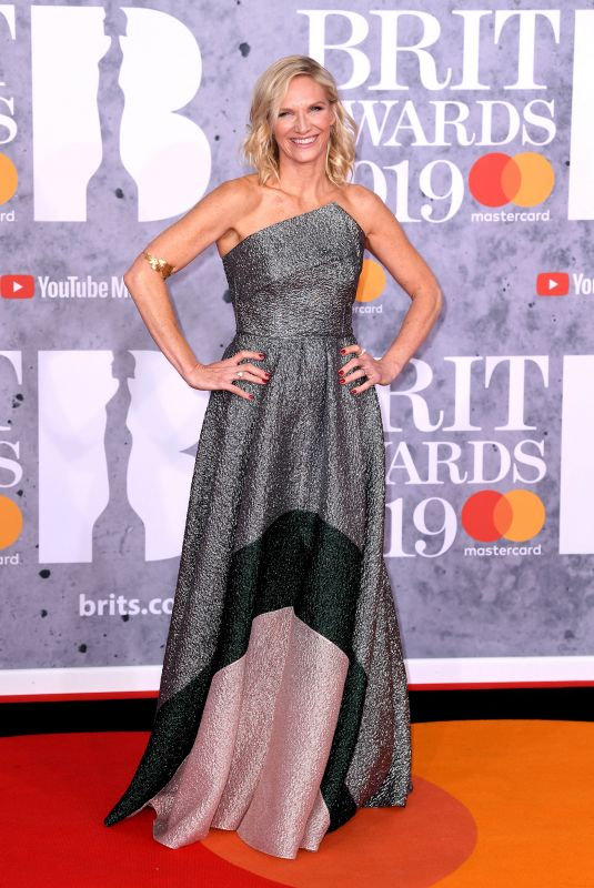 JO WHILEY at Brit Awards 2019 in London 02/20/2019