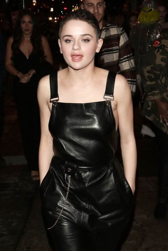 JOEY KING Night Out in Los Angeles 02/15/2019