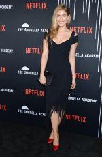 JORDAN CLAIRE ROBBINSON at The Umbrella Academy Premiere in Hollywood 02/12/2019
