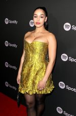 JORJA SMITH at Spotify Best New Artist 2019 in Los Angeles 02/07/2019
