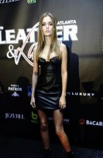 JOSEPHINE SKRIVER at 2019 Super Bowl Leather & Laces Party in Atlanta 02/01/2019