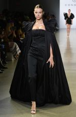 JOSEPHINE SKRIVER at Cong Tri Fashion Show at NYFW in  New York 02/11/2019
