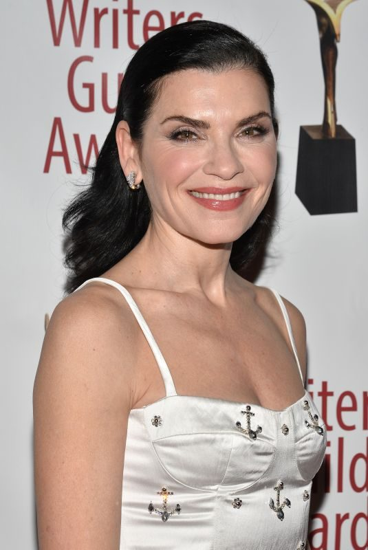 JULIANNA MARGUILES at Writers Guild Awards in Los Angles 02/17/2019