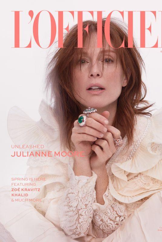 JULIANNE MOORE for L'Officiel Magazine, March 2019