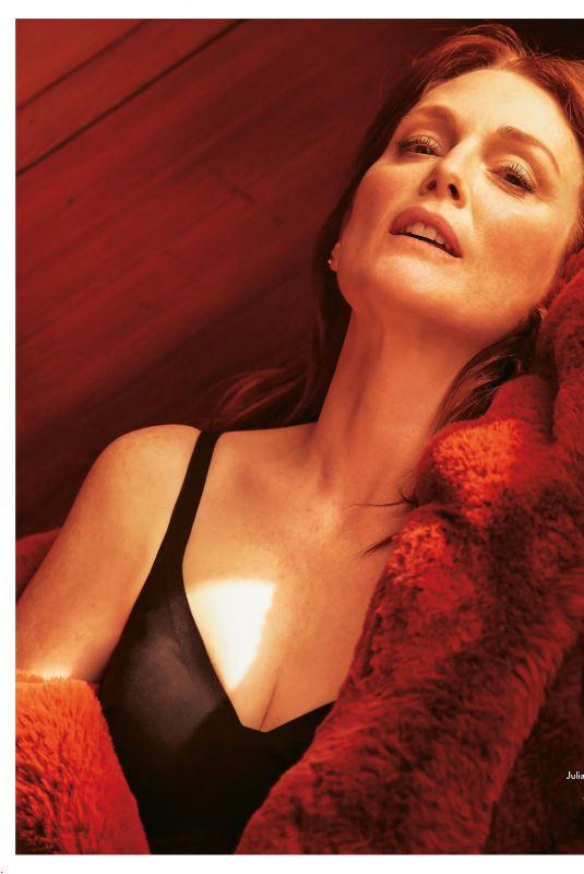 JULIANNE MOORE in Grazia Magazine, Italy February 2019