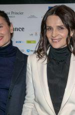 JULIETTE BINOCHE at Le Temps Presse Film Festival Closing Ceremony in Paris 02/01/2019