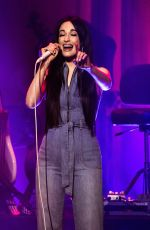 KACEY MUSGRAVES Performs at a Concert in San Frascisco 02/18/2019