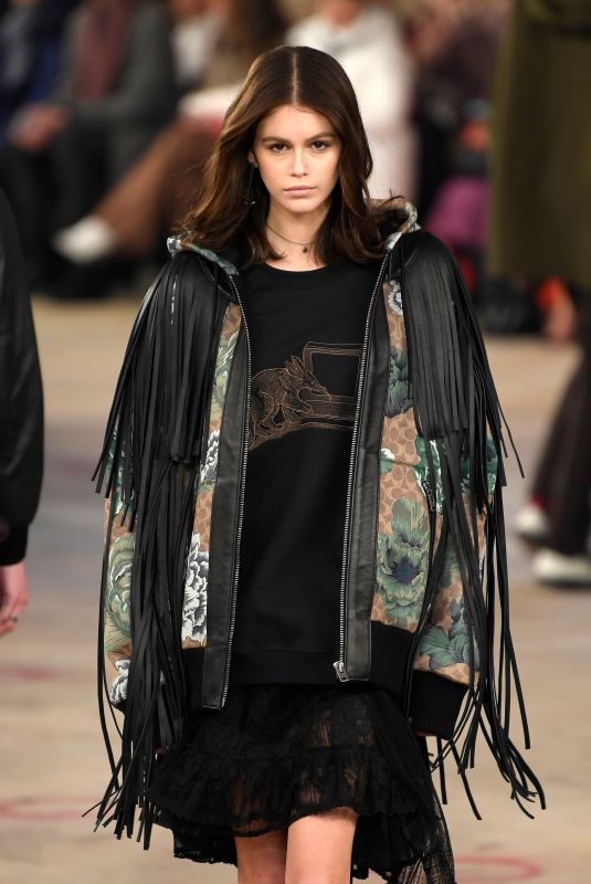 KAIA GERBER at Coach Runway Show at NYFW in New York 02/12/2019