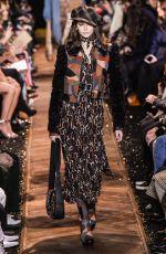 KAIA GERBER at Michael Kors Runway Show at New York Fashion Week 02/13/2019