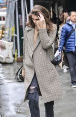 KAIA GERBER Leaves Marc Jacobs Office in New York 02/13/2019