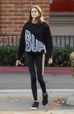 KAIA GERber Out and About in Mmalibu 02/04/2019