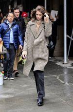 KAIA GERBER Out at New york Fashion Week 02/13/2019