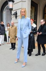 KARLIE KLOSS Leaves Ralph Lauren Show in New York 02/07/2019