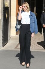 KARLIE KLOSS Out and About in Paris 02/26/2019