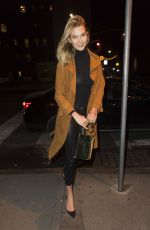 KARLIE KLOSS Out for Dinner in New York 02/05/2019