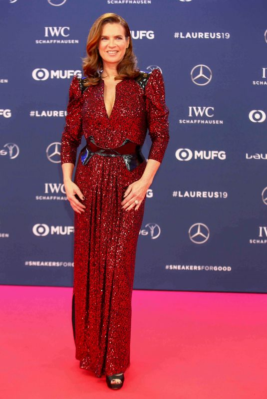 KATARINA WITT at 2019 Laureus World Sports Awards in Monaco 02/18/2019