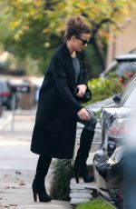 KATE BECKINSALE Out and About in Los Angeles 01/31/2019