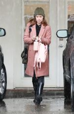 KATE MARA at Ballet Class in Los Angeles 02/02/2019