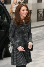 KATE MIDDLETON Arrives at Mental Health in Education Conference in London 02/13/2019