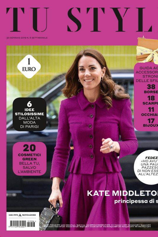 KATE MIDDLETON in Tu Style, January 2019