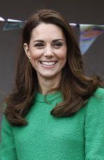 KATE MIDDLETON Visists a Schools in London 02/05/2019