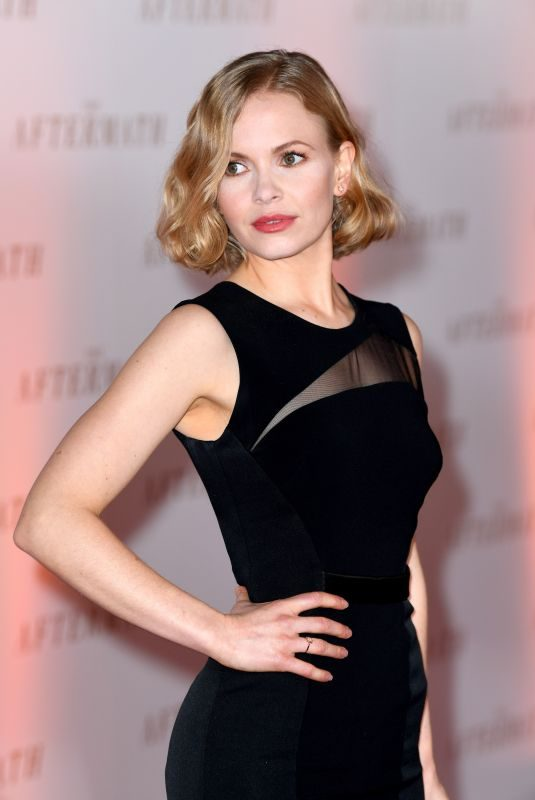 KATE PHILLIPS at The Aftermath Premiere in London 02/18/2019