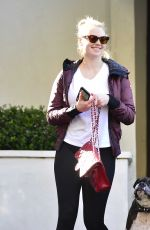 KATE UPTON Leaves aGym Session in Los Angeles 01/31/2019