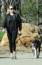 KATE UPTON Out with Her Dog in Beverly Hills 02/07/2019