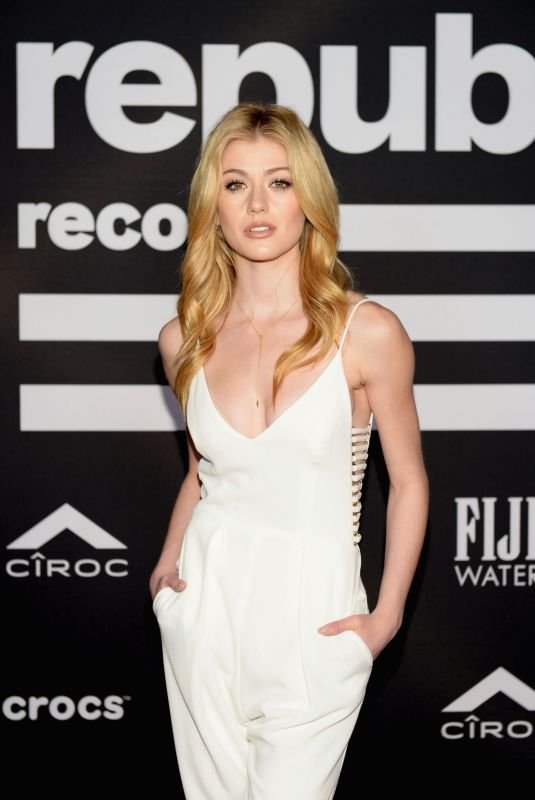 KATHERINE MCNAMARA at Republic Records Grammys After-party in Los Angeles 02/10/2019
