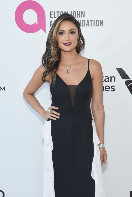 KATIE CLEARY at Elton John Aids Foundation Oscar Party in Hollywood 02/24/2019