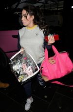 KATIE PRICE Out in Liverpool 02/01/2019