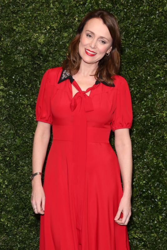 KEELEY HAWES at Charles Finch & Chanel Pre-BAFTA Dinner in London 02/09/2019