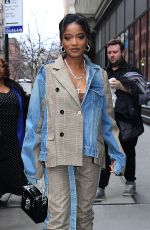 KEKE PALMER Arrives at Build Series in New York 02/07/2019