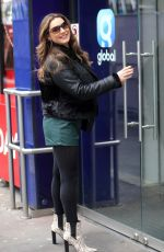 KELLY BROOK Out and About in London 01/31/2019