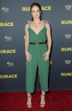 KELSEY REINHARDT at Run the Race Premiere in Hollywood 02/11/2019