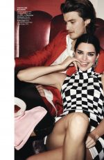 KENDALL JENNER and EMILY RATAJKOWSKI in Vogue Magazine, March 2019