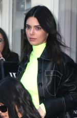 KENDALL JENNER and KOURTNEY KARDASHIAN Out Shopping in New York 02/08/2019