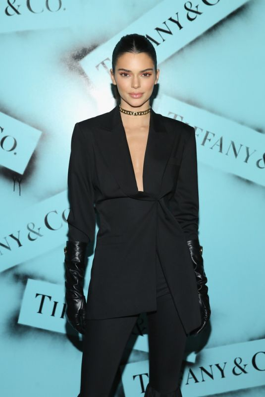 KENDALL JENNER at Tiffany & co. Modern Love Photoghaphy Exhibition in New York 02/09/2019