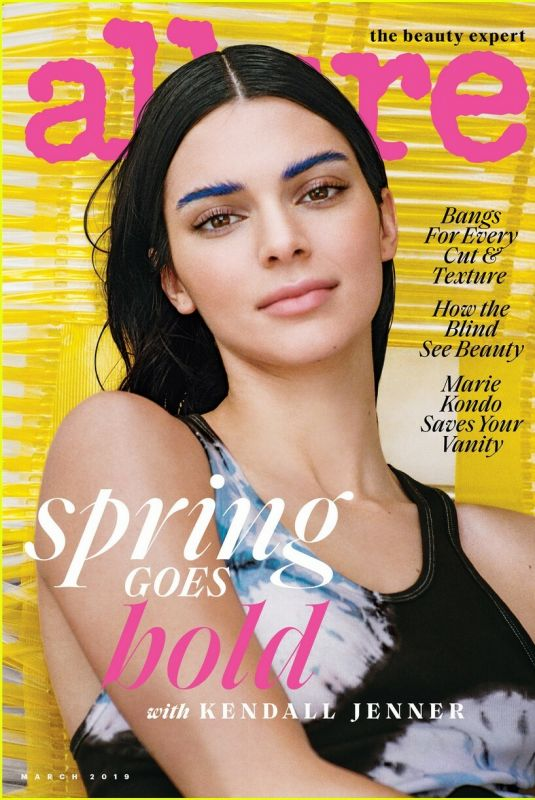 KENDALL JENNER for Allure Magazine, March 2019