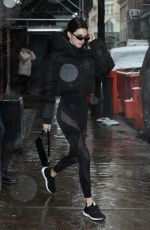 KENDALL JENNER Leaves Her Hotel in New york 02/12/2019
