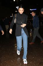 KENDALL JENNER Night Out in New York 02/12/2019