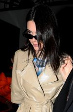 KENDALL JENNER Out and About in Milan 02/21/2019