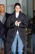 KENDALL JENNER Out and About in New York 01/31/2019