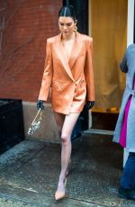 KENDALL JENNER Out in New York 02/12/2019