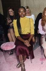 KIKI LAYNE at Kate Spade Fashion Show in New York 02/08/2019