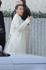 KIM KARDASHIAN Out and About in Calabasas 02/21/2019
